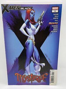 X-MEN Black : Mystique #1 (Scott Campbell) Marvel comics