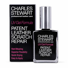 CHARLES STEWART PATENT LEATHER SCRATCH REPAIR RESTORER UV GEL FORMULA - £6.49 !!