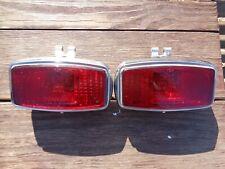 Wipac rear fog light chromed metal.