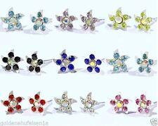 Markenloser Mode-Ohrschmuck mit Stern-Schliffform und Butterfly-Verschluss