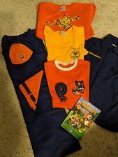 tiger cub scout uniform hat shirt pants belt scarf small 8
