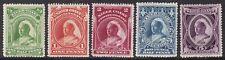 LAGOS 1897-98 SET TO 5D, FINE MINT, CAT. £32+