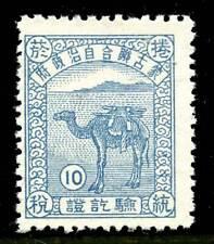 Inner Mongolia - Japan Occupation - Cigarette Revenue - 1939-45 - Mengkiang Prov