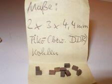 Charbons de remplacement 100 Pièces f.Loks H0 Piko,Gützold,Monsieur,f.Bastler,