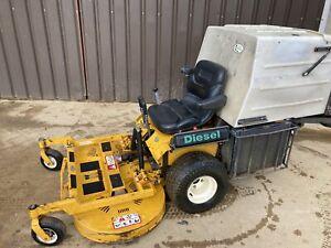 Walker MDD GHS Kubota diesel skid steer mower