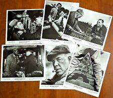 6 Original 1973 EMPEROR OF THE NORTH POLE PROMOTIONAL MOVIE STILLS w/Studio Bag