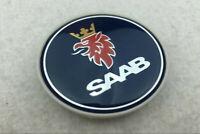 4Pcs 63mm Auto Rad Center Caps Emblem Nabendeckel dunkel blaue Logo für SAAB