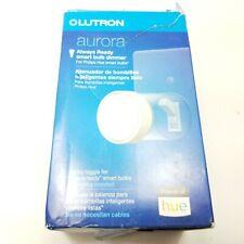 Lutron - Aurora Smart Bulb Dimmer Switch for Philips Hue Smart Lighting - White