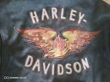 Harley-Davidson  Distressed Leather Jacket