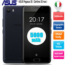 5.2'' ASUS Zenfone Pegasus 3S Max 3+64GB Cellulare 4G Smartphone 13MPX Octacore