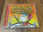 Scholastic Brain Booster (pc, 2006) Complete Windows Computer Cpu Game Software