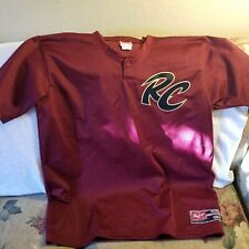 SACRAMENTO RIVER CATS BATTING JERSEY- XL -THROWBACK - RAWLINGS - SAN FRAN GIANTS
