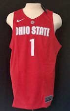 Ohio State Buckeyes Xl Nike Elite Basketball Jersey! Nwt Dri-Fit Stitched On #'s