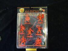 Conte 300 Spartans Leonidas Greeks Set #8 Red Spartan Poseable Plastic Rare