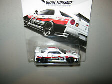 E = Hot Wheels PlayStation Exclusive = Gran Turismo = Nissan Skyline GT-R R34