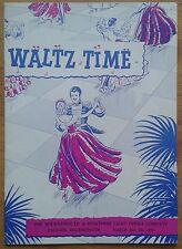 Waltz Time programme Bournemouth Pavilion Theatre 1959 Light Opera Company