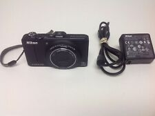 "Nikon Coolpix S9300 16.0MP 3""Screen Wide18x Zoom Digital Camera Black"