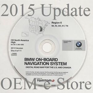 1997-2002 BMW 7 5 3 Series M3 M5 X5 GPS Navigation CD Map 6 Cover MI IN OH KY TN