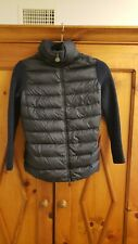 Moncler Maglione Quilted Tricot Cardigan Navy Blue Jacket Size XS EUC