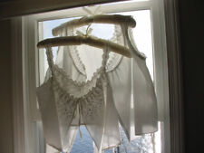 New listing Lot of 2 Antique Ladies White Cotton Corset Covers Camisoles Free Shipping
