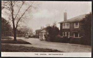 WETHERSFIELD, ESSEX postcard The Green