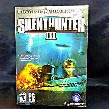 Silent Hunter III Strategic Simulation PC Game 2005
