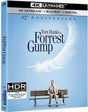 Forrest Gump New Sealed 4K Ultra Hd Uhd + Blu-ray 25th Anniversary