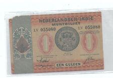 Nederlandsch-Indie Indonesia 1 Gulden banknote