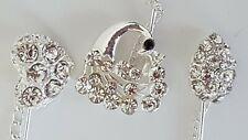 Brooch Rhinestone Pins Silver(10+5 FREE) Muslim Hijab Pearl Brooch Safety Scarf