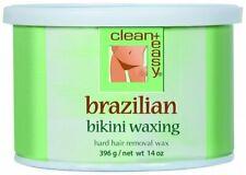 Clean+ Easy Hard Wax Brazilian Bikini Waxing Hair Removal