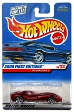 2000 Hot Wheels #70 First Edition Thomassima 3 pr5