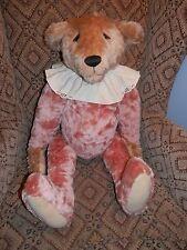 "28"" Jodi Rankin Light Brown Bear with Rose Body"