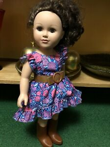 "Cititoy 18"" Doll Original Outfit"