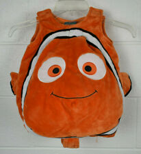 NWOT NEW DISNEY STORE FINDING NEMO FISH PLUSH BOYS CHILD COSTUME HAT SQUEEK 3 3T