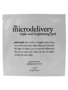 Philosophy The Microdelivery Triple-Acid Brightening Peel (1 Pad) 2.2g/0.08oz