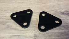 TRIUMPH PRE OIL IN FRAME FRONT ENGINE PLATES 83-1356 T120 TR6 1968-70