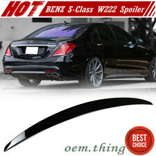 IN STOCK USA Paint 040 Mercedes BENZ W222 4Dr OE Trunk Spoiler S Class S400 18+