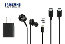 Samsung S20 Accessories Oem Charger Type C Akg Usb-C Cable New Note 10 Plus 5G