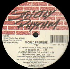 World Premiere - Try - 1992 Strictly Rhythm USA - SR1292