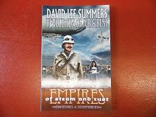 SIGNED Revolution of Air and Rust(Empires of Steam and Rust) David Lee Summers