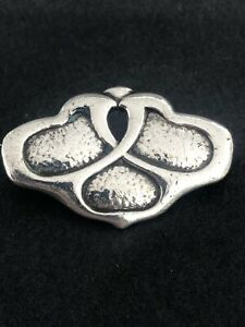 Charles Horner silver brooch Chester 1909