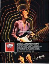 1978 Vintage Ad GHS Strings Bucky Barrett /& Pete Drake