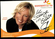 Sandra Hengeler Sonnenklar TV Autogrammkarte Original Signiert ## BC 24801