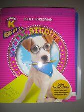 Scott Foresman Social Studies, Gr K, Teacher's Ed, Here We Go  9780328081608