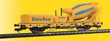Viessmann 2625 H0 Wagon à bord bas m. Bétonnières pour 3 Conduite