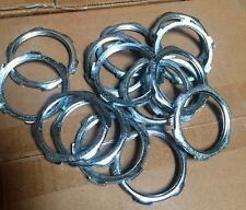 "(200 pc lot) Steel Rigid Conduit Locknuts 2"" for Threaded Conduit Connectors"