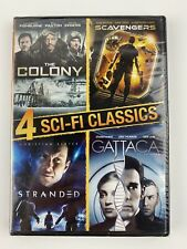4 Sci-Fi Classics The Colony/Scavengers/Strande d/Gattaca (Dvd, 2014, 4-Disc Set)