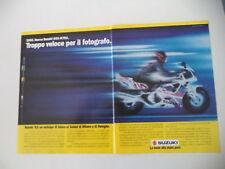 advertising Pubblicità 1991 MOTO SUZUKI GSX 750 R '92