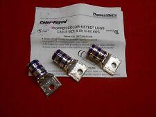 THOMAS & BETTES 54167 4/0 AWG   1-HOLE COPPER LUG SHORT BARREL bid for 1 unit