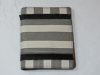 Fossil SL7522080 RFID Passport Case Black Strip This & That leather wallet NWT*^